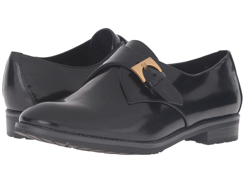 Anne Klein - Bara (Black/Black Patent) Womens Shoes