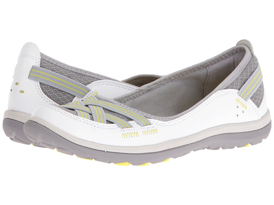 Clarks - Aria Pump (White Leather) High Heels