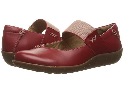 Clarks Medora Elie - Red Leather