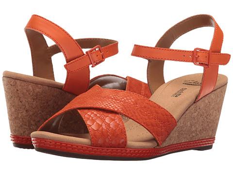 Clarks Helio Latitude - Orange Leather