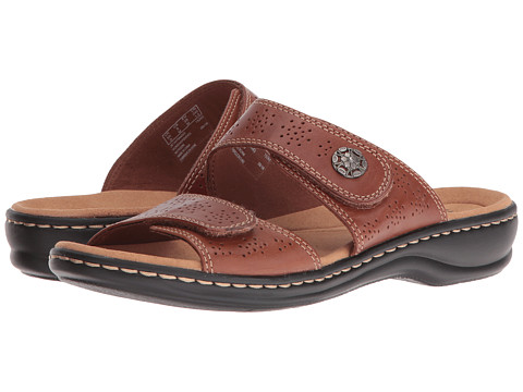 Clarks Leisa Lacole - Tan Leather