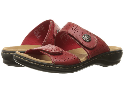 Clarks Leisa Lacole - Red Leather