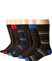 Florsheim - Modern Collection 6-Pack Socks