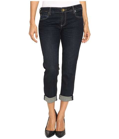 KUT from the Kloth Petite Catherine Boyfriend Jeans in Limitless