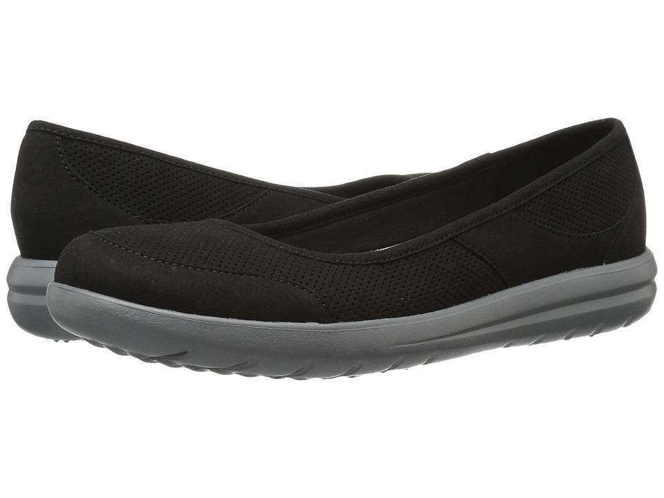 Clarks - Jocolin Myla (Black Perfed Microfiber) Womens Sandals