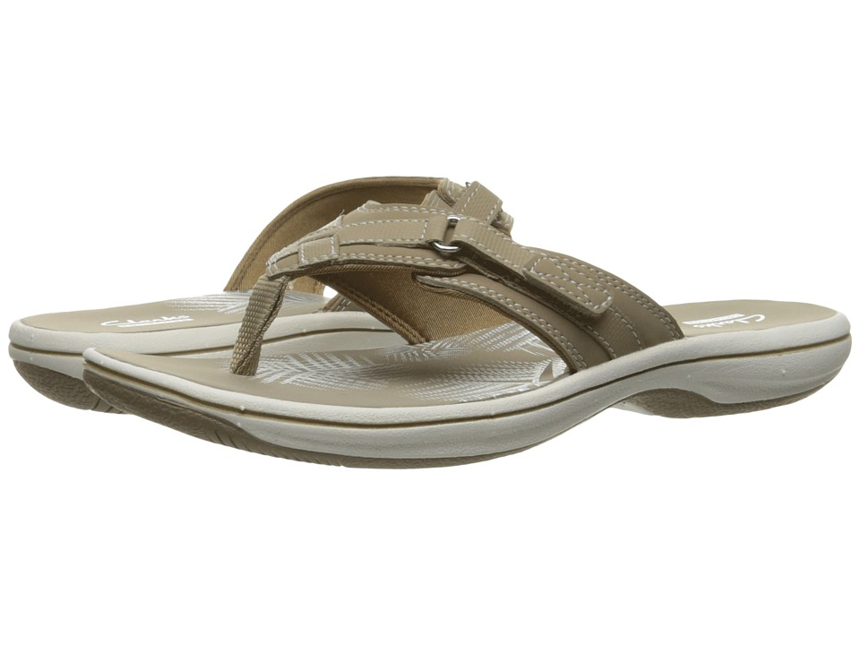 Clarks Breeze Sea (Taupe) Sandals
