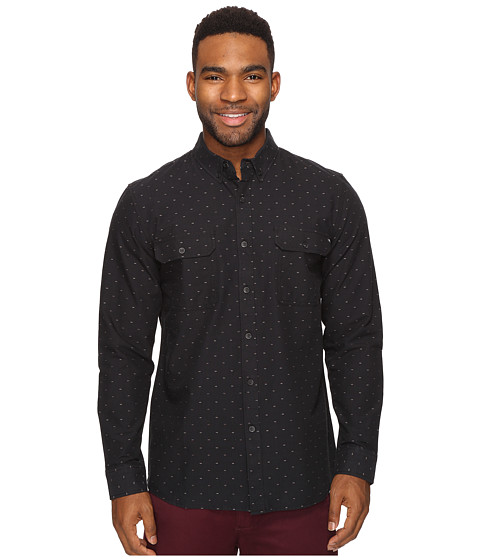 Rip Curl Neville Long Sleeve Shirt - Black