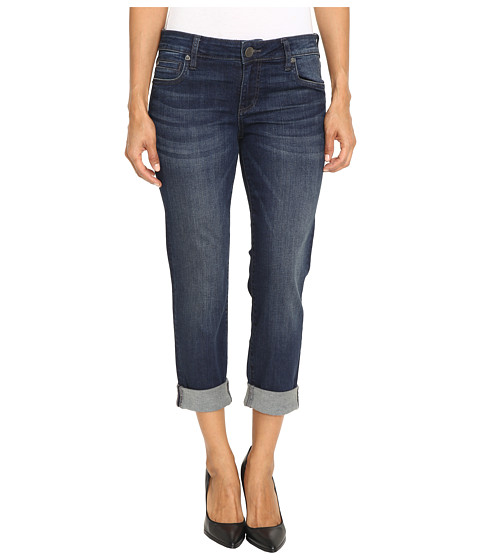 KUT from the Kloth Petite Catherine Boyfriend Jeans in Carefulness