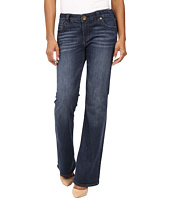 KUT from the Kloth - Petite Natalie High-Rise Bootcut Jeans in Adaptive