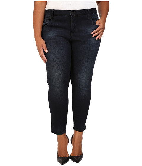 KUT from the Kloth Plus Size Crop Skinny Jeans in Refresh