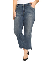 KUT from the Kloth - Plus Size Reese Crop Flare Jeans in Perfection