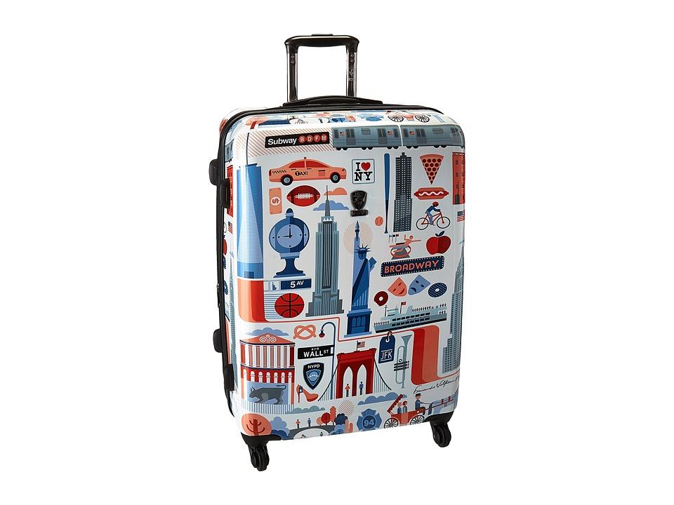 Heys America - Cities 30 Spinner (Multi) Luggage