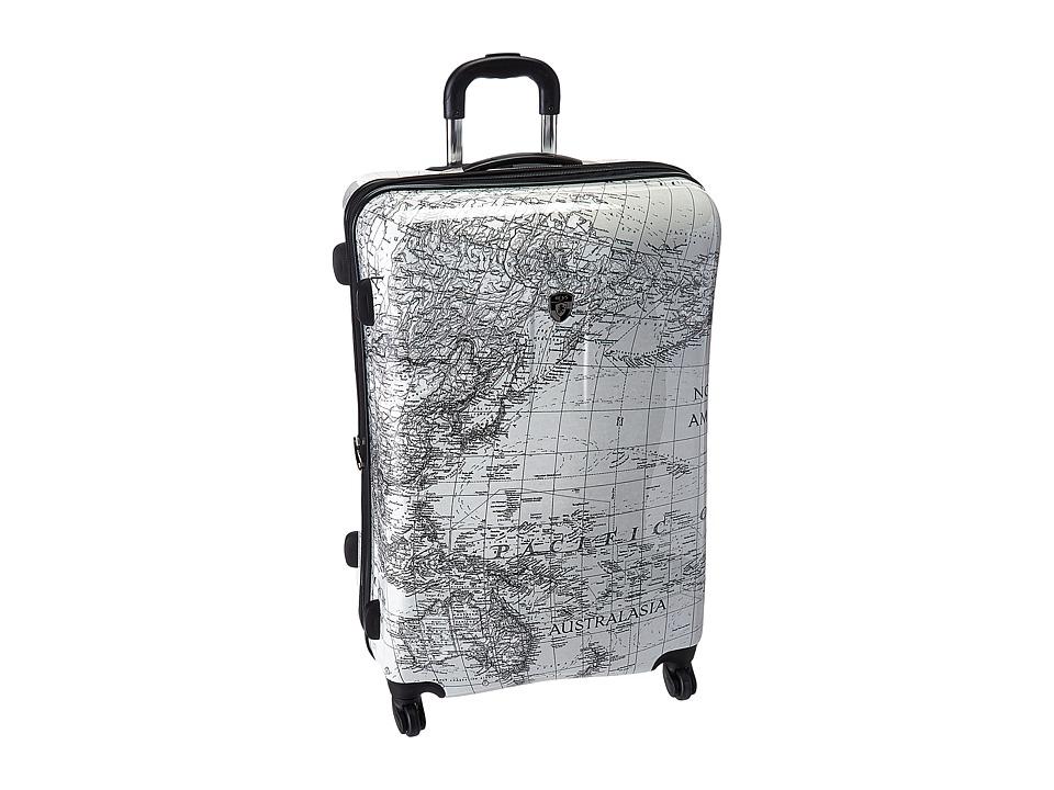 Heys America Classical World 30 Spinner (Black/White) Luggage