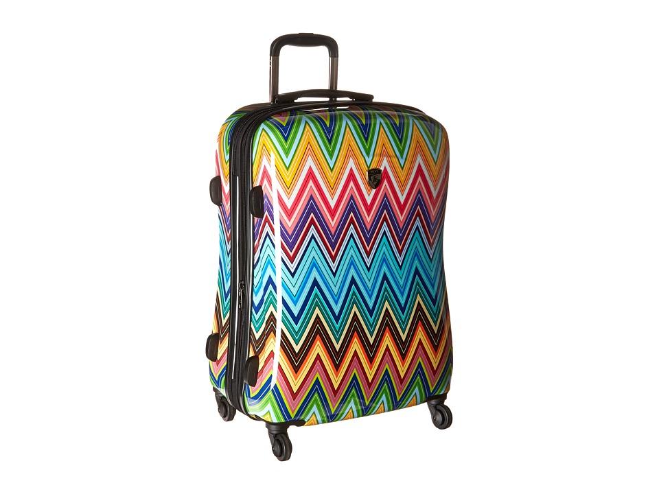 Heys America Colour Herringbone 26 Spinner (Multi) Luggage