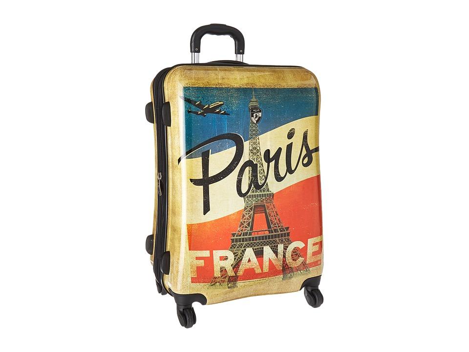 Heys America Vintage Traveller 26 Spinner (Tan) Luggage
