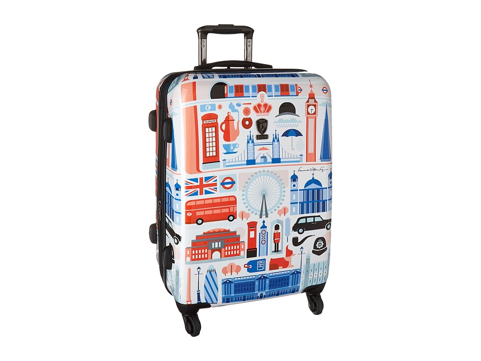 Heys America Cities 26 Spinner (Multi) Luggage