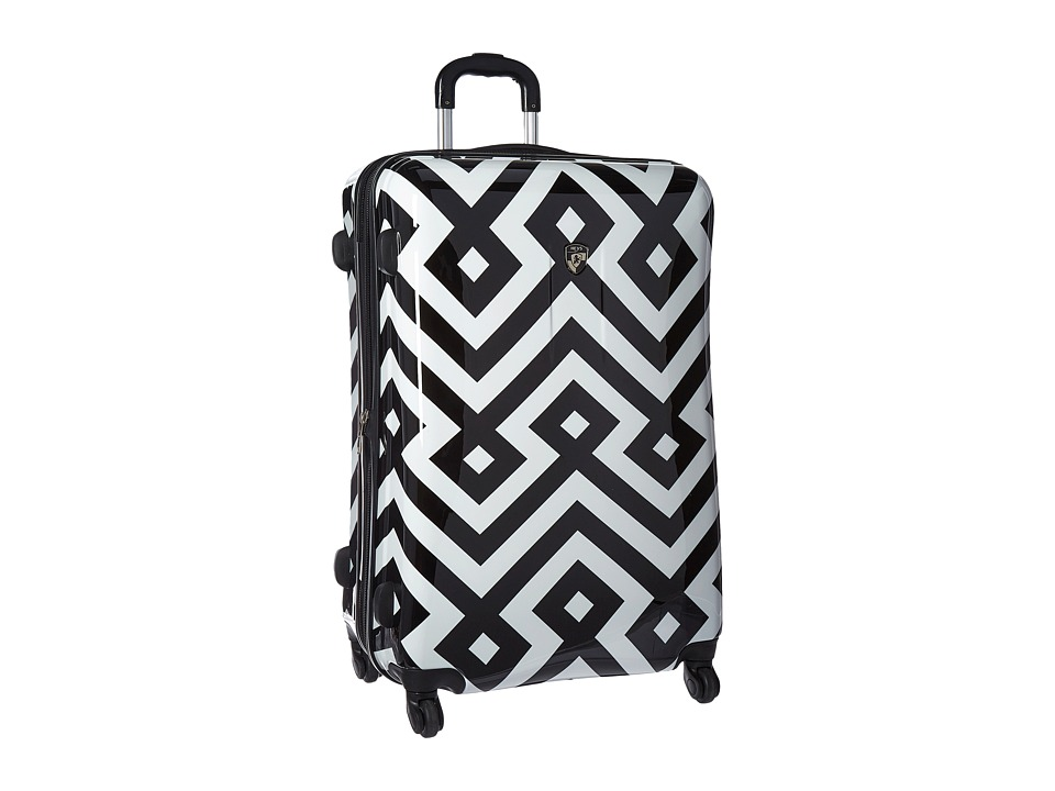 Heys America Deco 30 Spinner (Black/White) Luggage