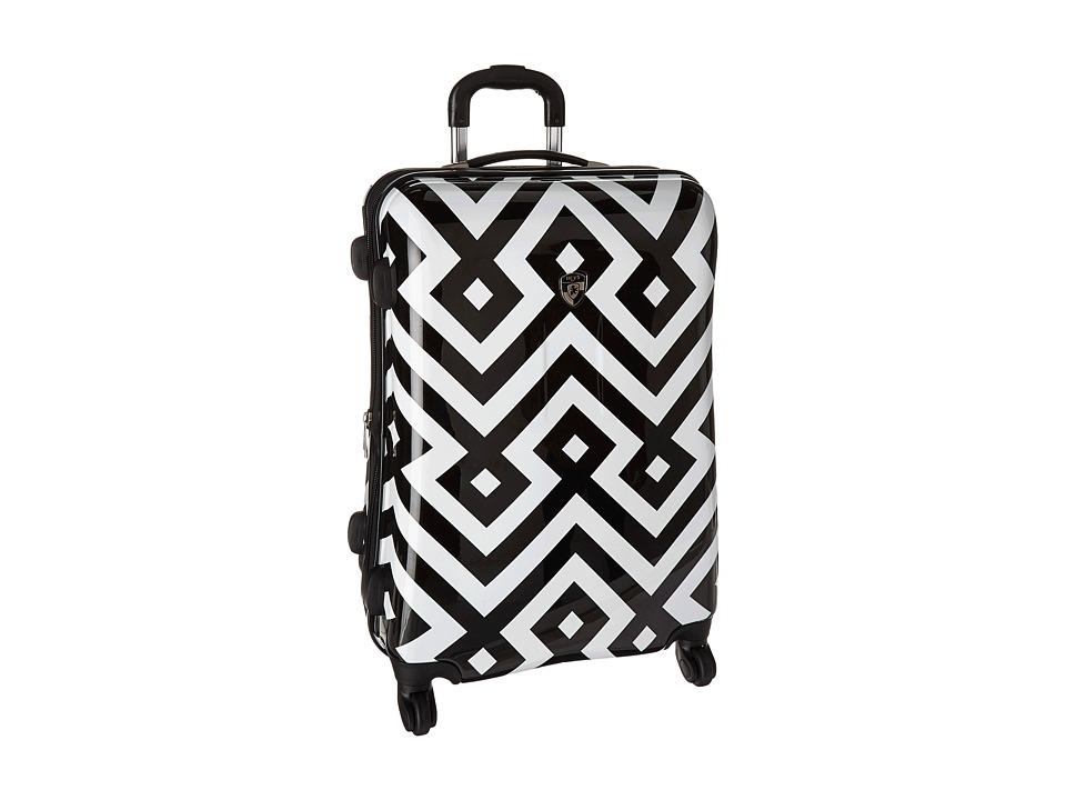 Heys America Deco 26 Spinner (Black/White) Luggage