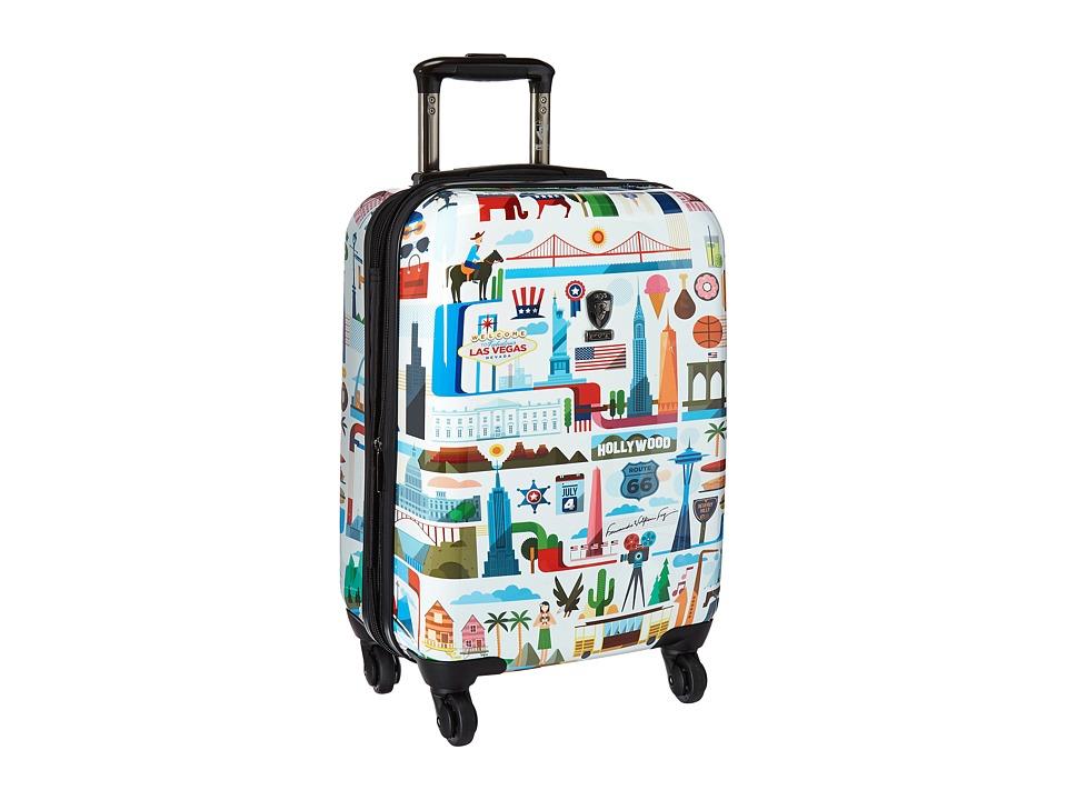Heys America - USA 21 Spinner (Multi) Luggage