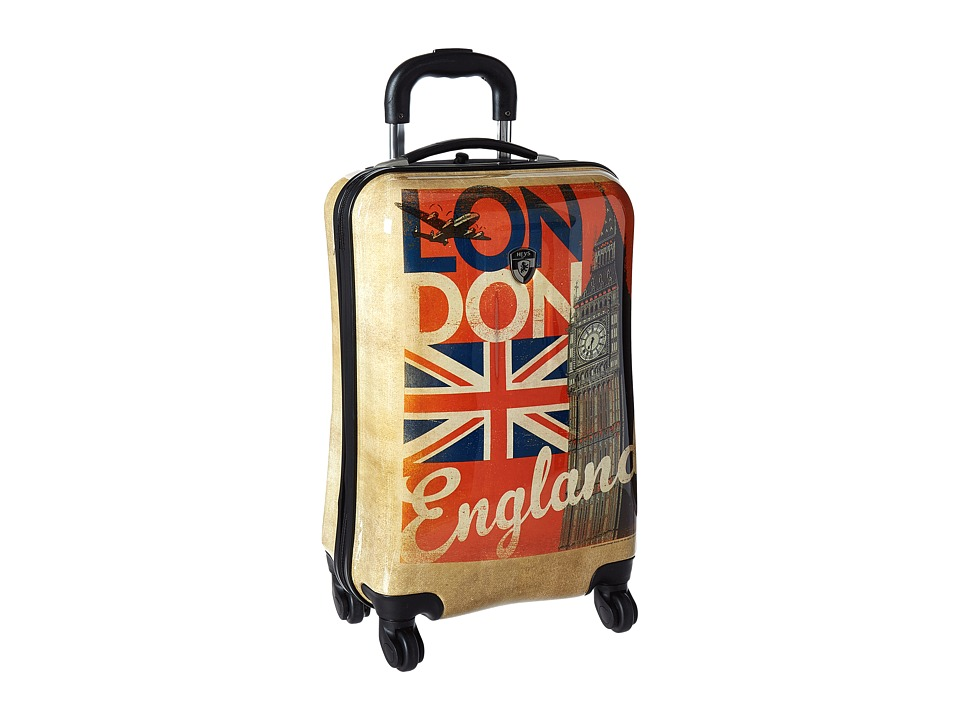 Heys America Vintage Traveller 21 Spinner (Tan) Luggage