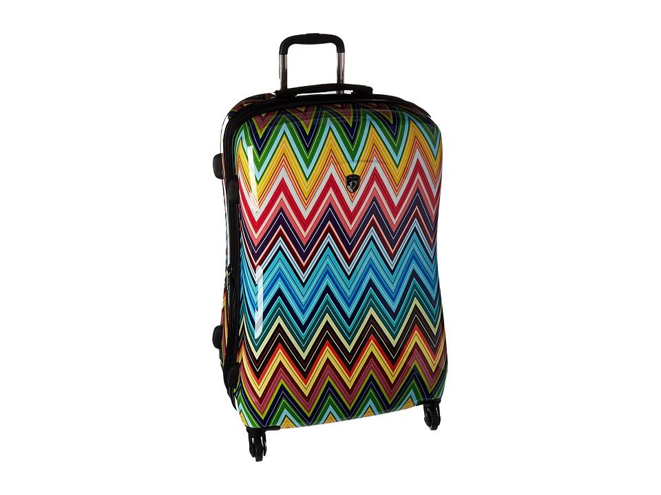Heys America - Colour Herringbone 30 Spinner (Multi) Luggage