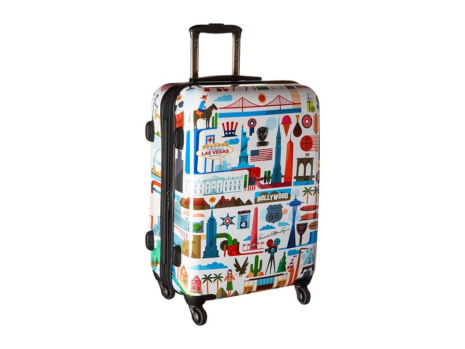Heys America - USA 26 Spinner (Multi) Luggage