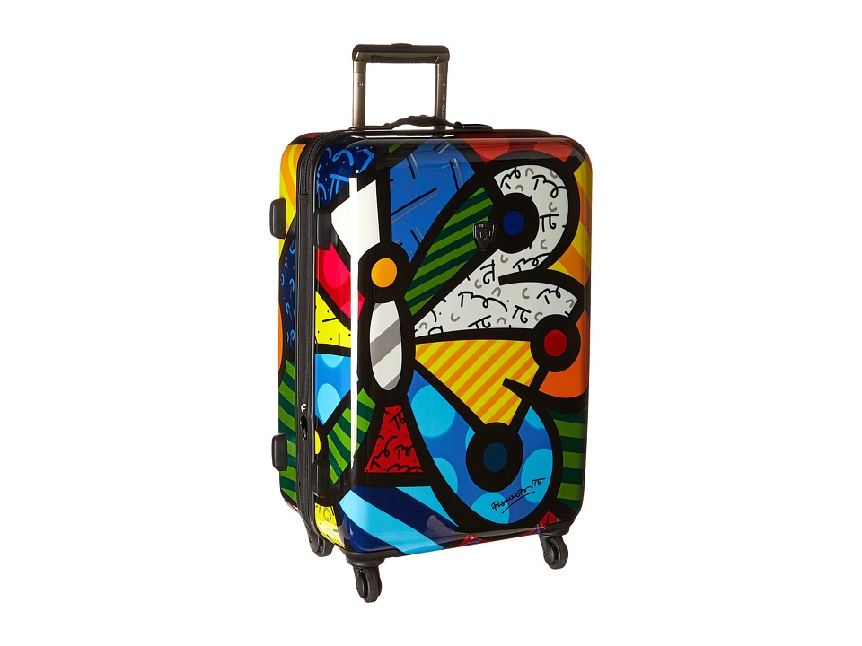 Heys America - Britto Butterfly 26 Spinner (Multi) Luggage