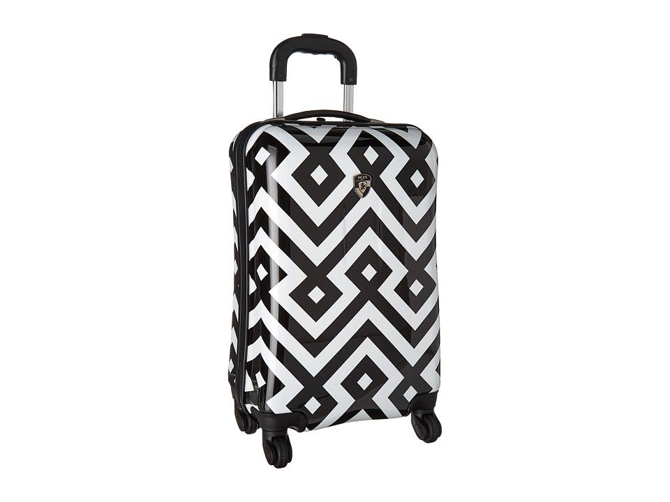 Heys America Deco 21 Spinner (Black/White) Luggage