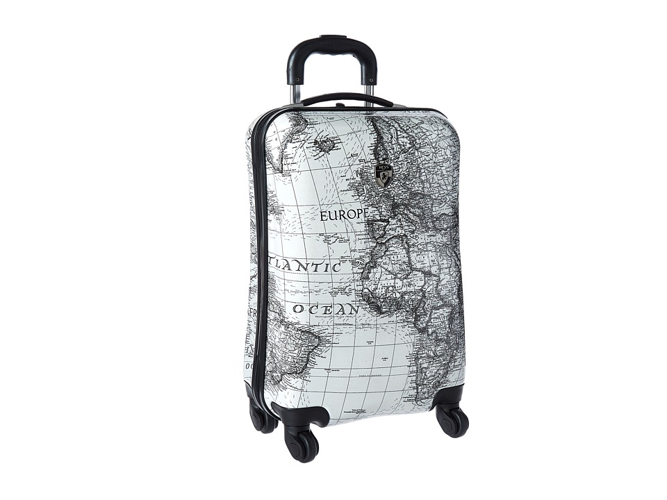 Heys America Classical World 21 Spinner (Black/White) Luggage