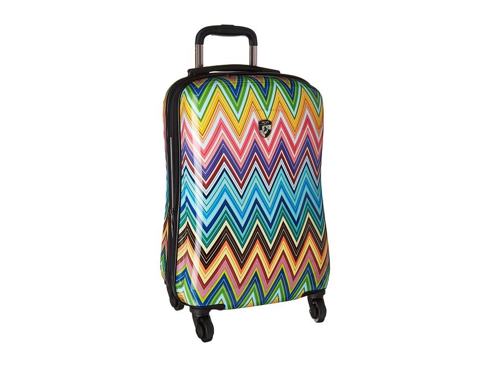 Heys America Colour Herringbone 21 Spinner (Multi) Luggage