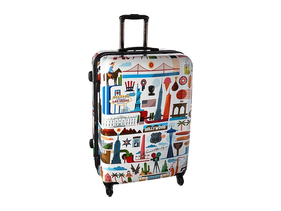Heys America - USA 30 Spinner (Multi) Luggage
