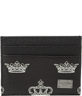 Dolce & Gabbana - Crown Printed Cardholder