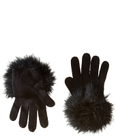 Kate Spade New York - Marabou Pom Gloves
