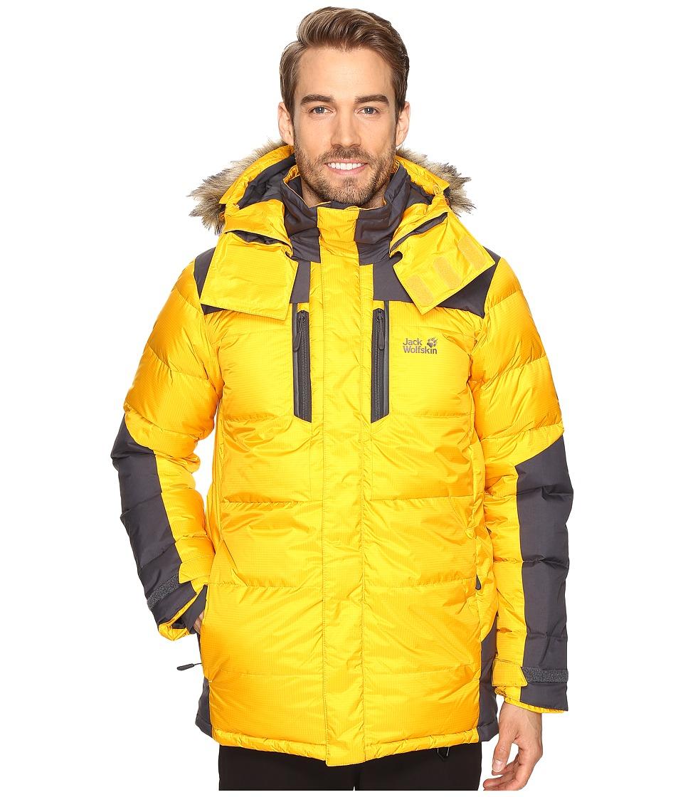Jack Wolfskin - The Cook Parka (Burly Yellow XT) Mens Coat