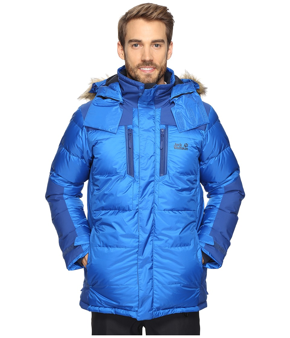 Jack Wolfskin The Cook Parka (Azure Blue) Men