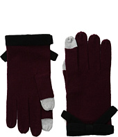 Kate Spade New York - Contrast Bow Gloves