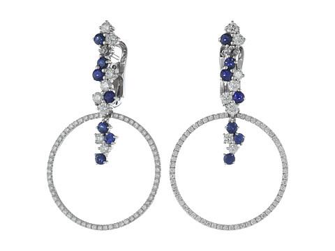 Miseno Vesuvio 18k Gold/Sapphire Earrings