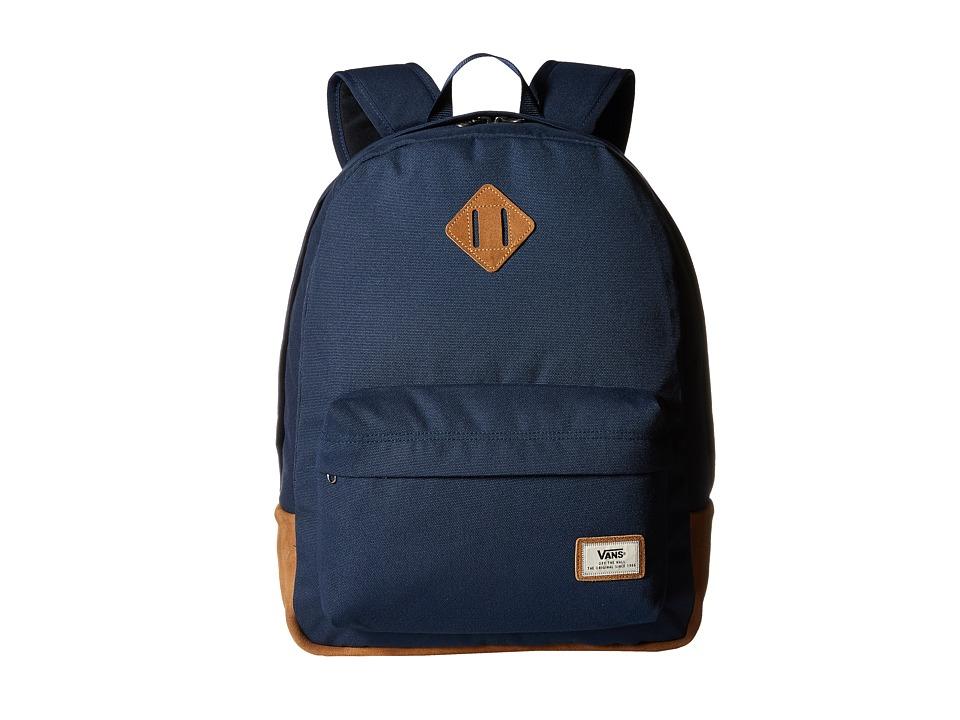 Vans - Old Skool Plus Backpack (Dress Blues/Suede) Backpack Bags