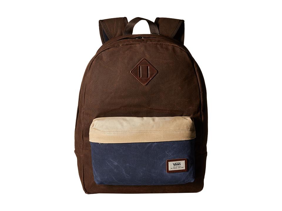 Vans - Old Skool Plus Backpack (Demitasse Color Block) Backpack Bags