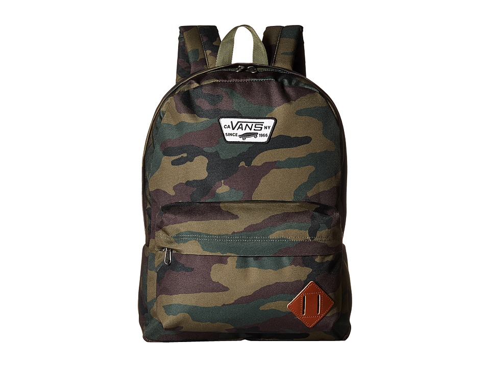 Vans - Old Skool II Backpack (Classic Camo) Backpack Bags