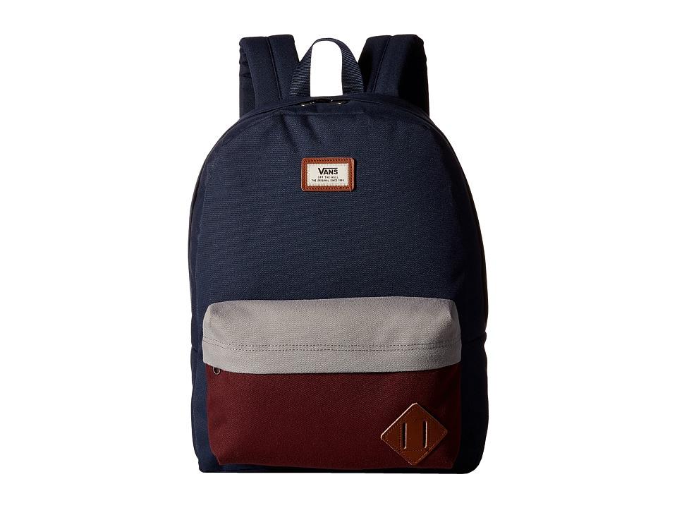 Vans - Old Skool II Backpack (Port Royale Color Block) Backpack Bags