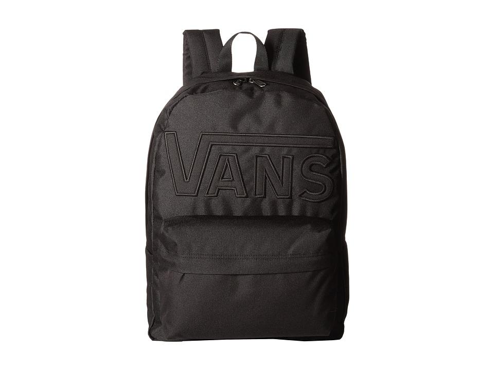 Vans - Old Skool II Backpack (Black/Black) Backpack Bags