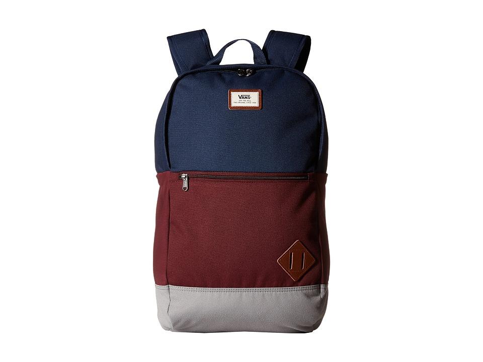 Vans - Van Doren III Backpack (Port Royale Color Block) Backpack Bags