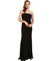 Adrianna Papell - Strapless Cut Out Jersey Gown