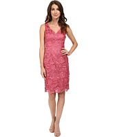 Adrianna Papell - V-Neck Lace Dress