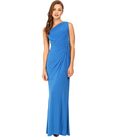 Adrianna Papell - One Shoulder Jersey Gown