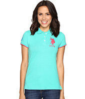 U.S. POLO ASSN. - Contrast Patch Big Pony Polo