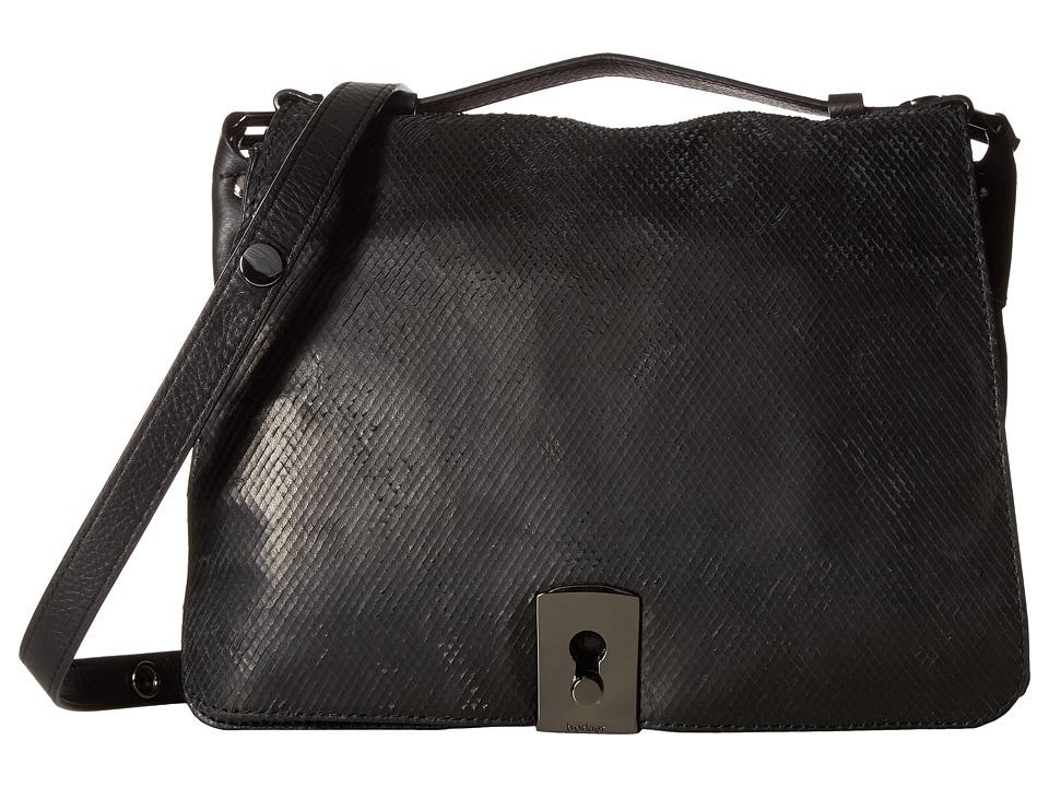 Botkier - Clinton Messenger (Black) Messenger Bags