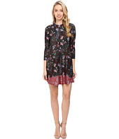 CATHERINE Catherine Malandrino - Printed Long Sleeve A-Line Dress