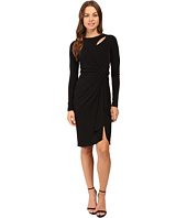 CATHERINE Catherine Malandrino - Long Sleeve Keyhole Dress